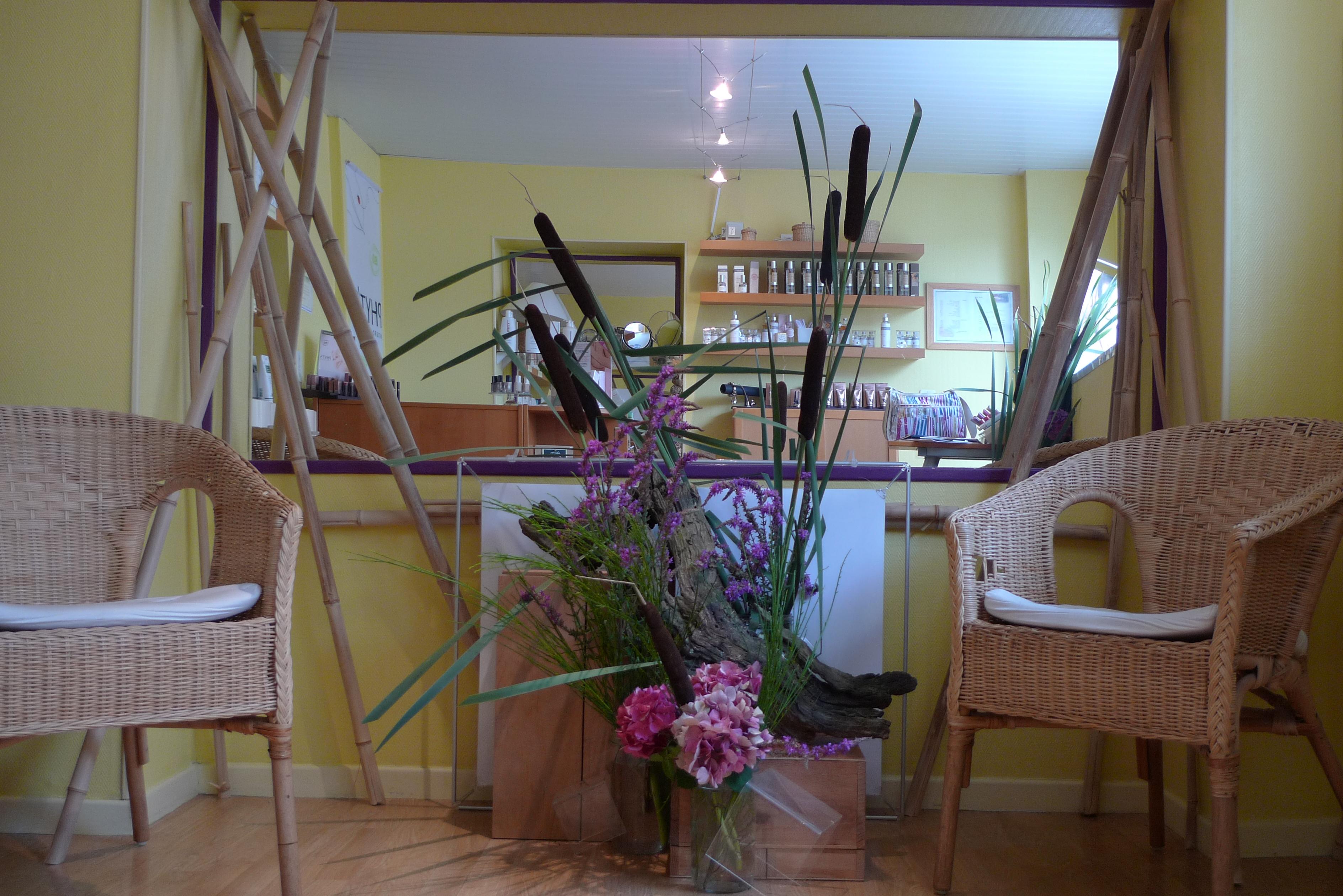 ikebana réalisé pour le  cabinet3