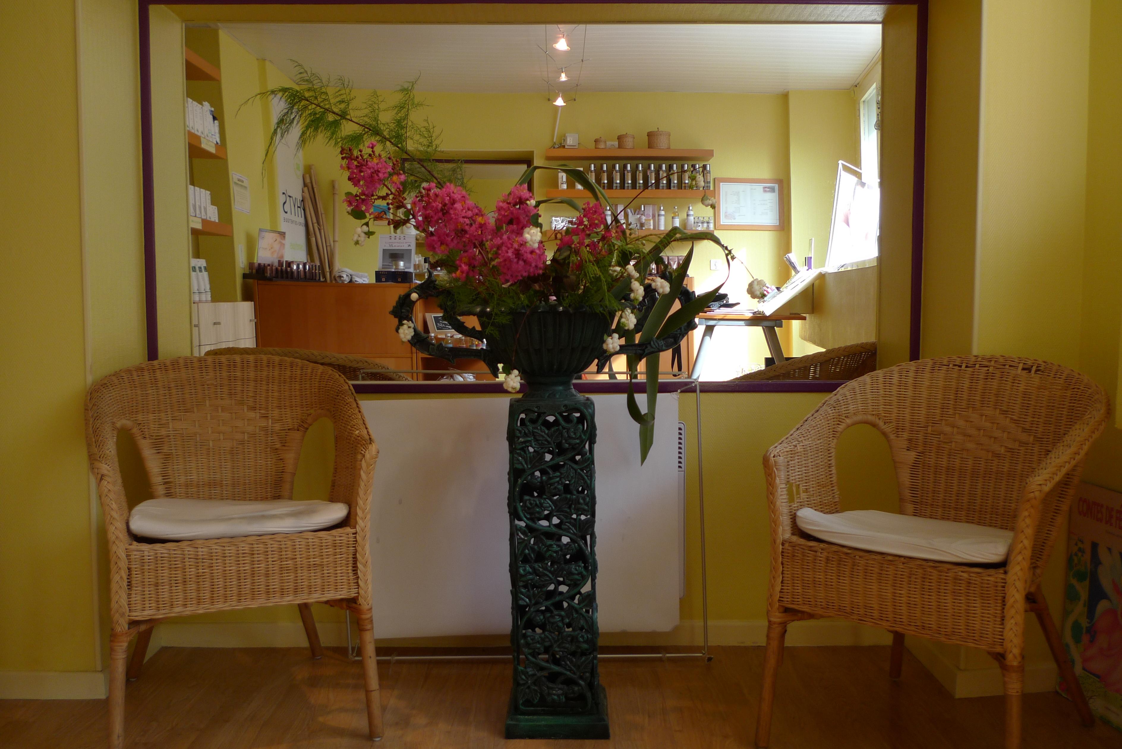 Ikebana réalisé pour le cabinet5