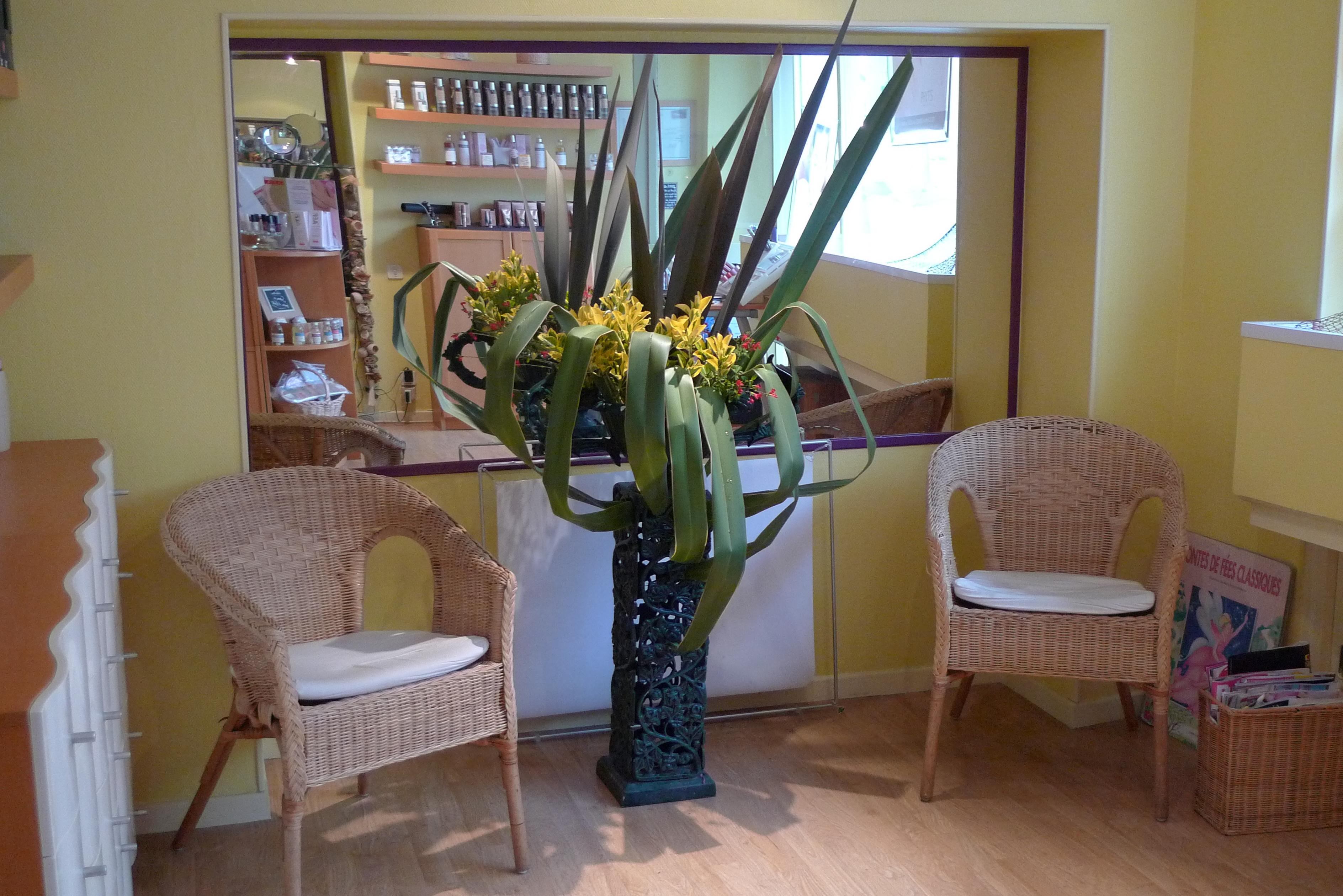 ikebana réalisé pour le cabinet1