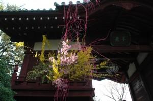 L'Ikebana dans les temples